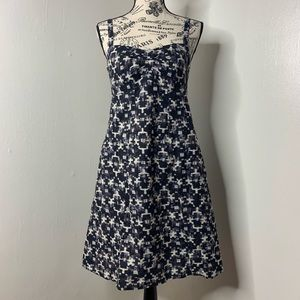PATAGONIA | Blue Print Hemp Sleeveless Dress K16